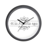 Et in Arcadia ego Wall Clock