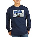 Hope, Autism is treatable, LS T-shirt