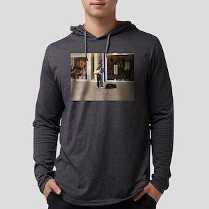 Organ Grinder Mens Hooded Shirt