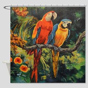 Parrots Shower Curtain