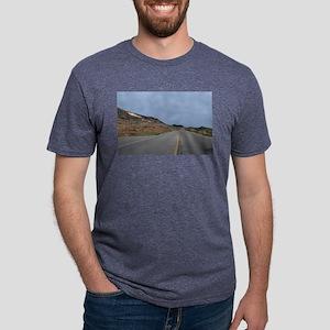Highway 1 Big Sur Mens Tri-blend T-Shirt