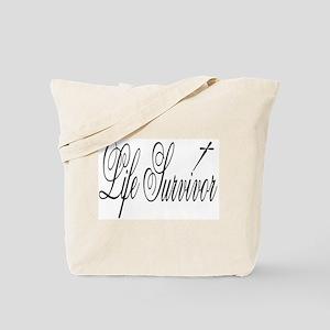 Life Survivor Tote Bag