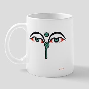 watchful eyes trans Mugs