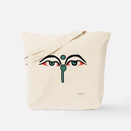 Cute Buddah Tote Bag