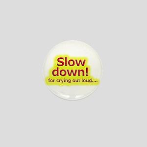 Slow down Mini Button
