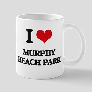 I Love Murphy Beach Park Mugs