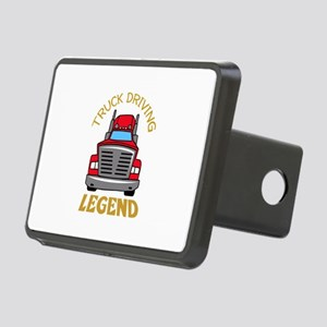 TRUCK DRIVING LEGEND Hitch Cover