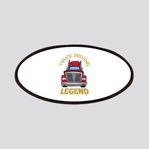 TRUCK DRIVING LEGEND Patches