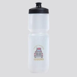 TRUCK DRIVING LEGEND Sports Bottle