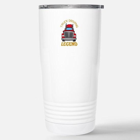 TRUCK DRIVING LEGEND Travel Mug