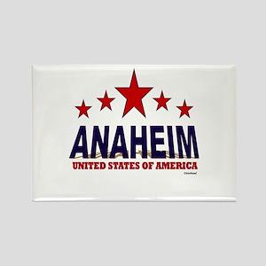 Anaheim U.S.A. Rectangle Magnet