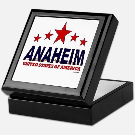 Anaheim U.S.A. Keepsake Box