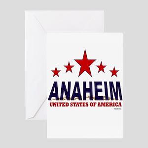 Anaheim U.S.A. Greeting Card