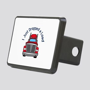 JUST DROPPED A LOAD Hitch Cover