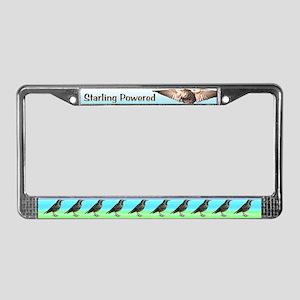 Starling Power License Plate Frame