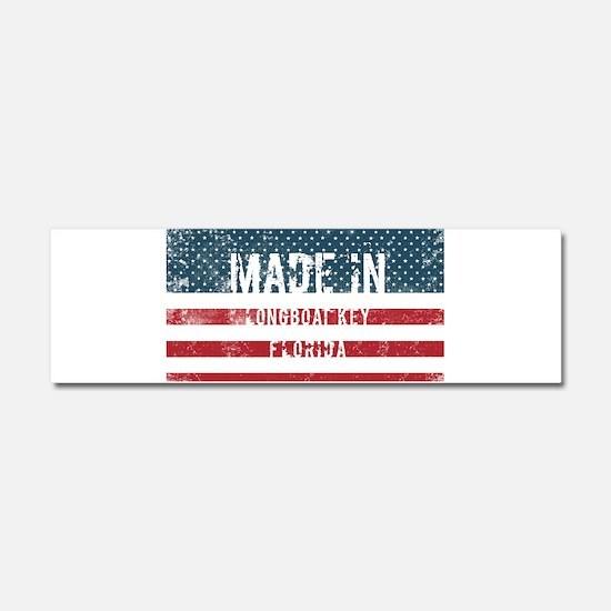 Made in Longboat Key, Florida Car Magnet 10 x 3