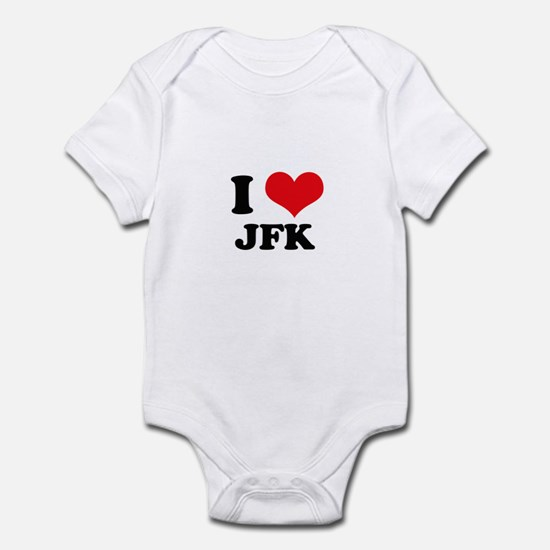 I Love JFK Infant Bodysuit