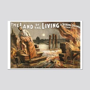 LAND OF THE LIVING poster 11x17