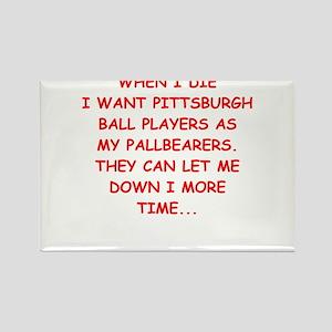 pittsburgh sports joke Magnets
