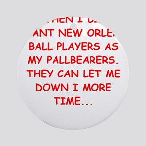 new orleans sports Ornament (Round)