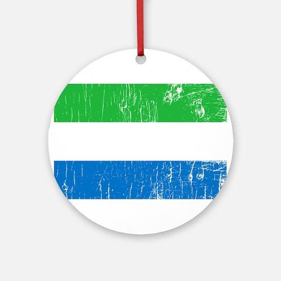 Vintage Sierra Leone Ornament (Round)