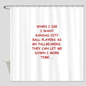 Kansas City Sports Joke Shower Curtain