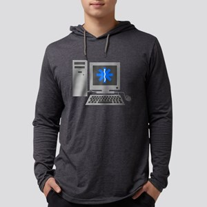 Computer Repair Mens Hooded Shirt