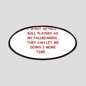 detroit sports joke Patches