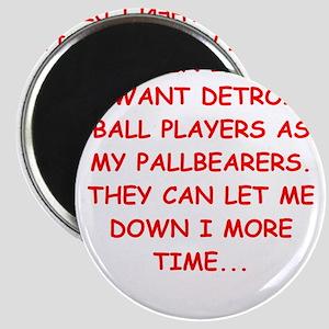 detroit sports joke Magnets