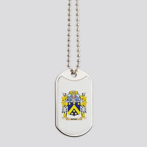 Code Coat of Arms - Family Crest Dog Tags