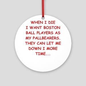 boston sports Ornament (Round)
