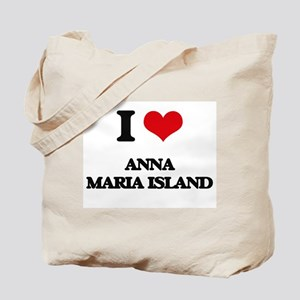 I Love Anna Maria Island Tote Bag