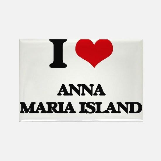 I Love Anna Maria Island Magnets