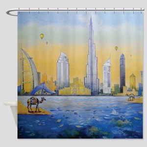 Camels in the wonderland 2 Shower Curtain