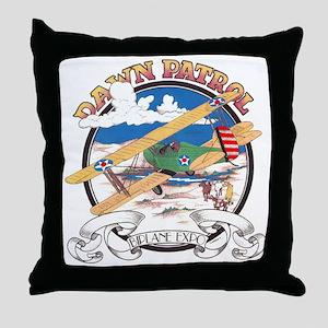 BIPLANE EXPO Throw Pillow
