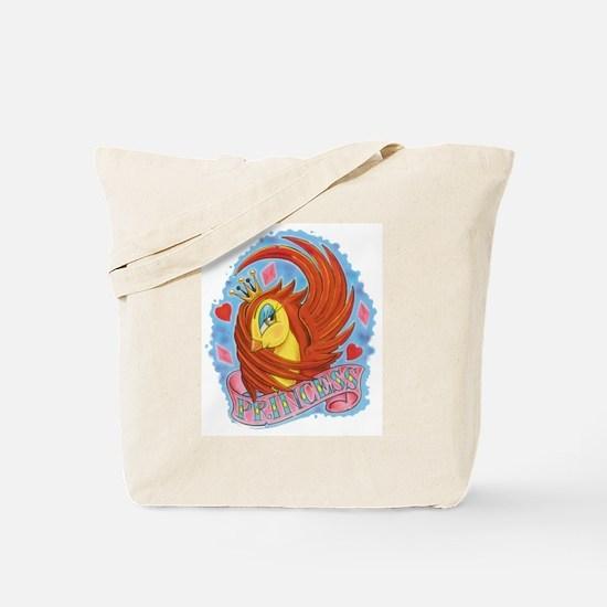 Princess Swallow Tattoo Tote Bag