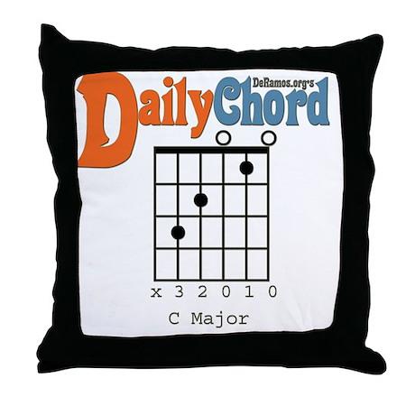 Daily Chord Throw Pillow