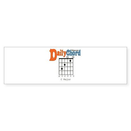 Daily Chord Bumper Sticker