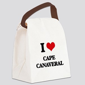 I Love Cape Canaveral Canvas Lunch Bag