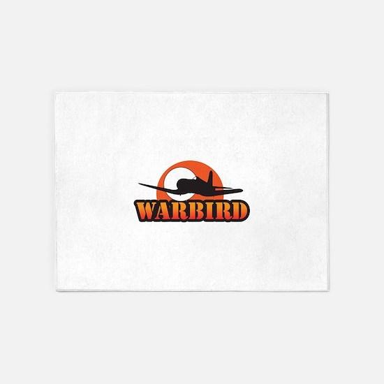 MILITARY WARBIRD 5'x7'Area Rug