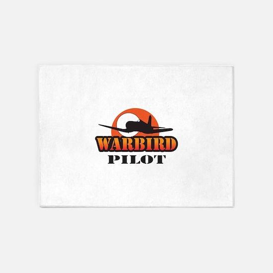 WARBIRD PILOT 5'x7'Area Rug
