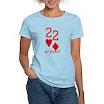 Quack Quack Got Ducks Poker Women's Light T-Shirt