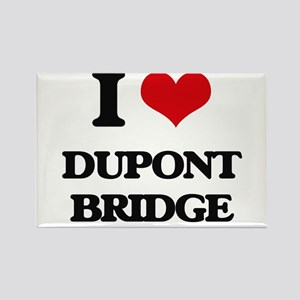 I Love Dupont Bridge Magnets