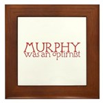 Murphy: Optimist Framed Tile