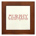 Murphy: Optimist Framed Tile