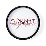 Murphy: Optimist Wall Clock