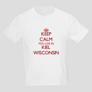 Keep calm you live in Kiel Wisconsin T-Shirt