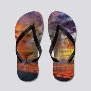 Magic Animals THE LION Flip Flops