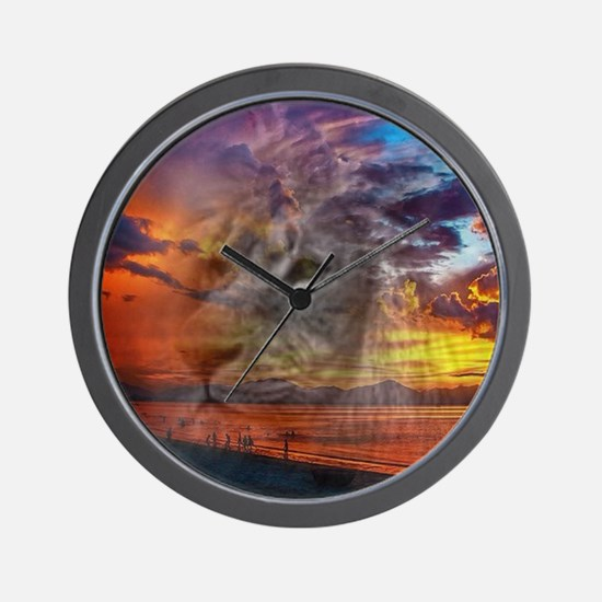 Magic Animals THE LION Wall Clock
