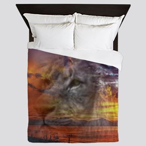 Magic Animals THE LION Queen Duvet